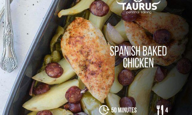 Spanish Baked Chicken
