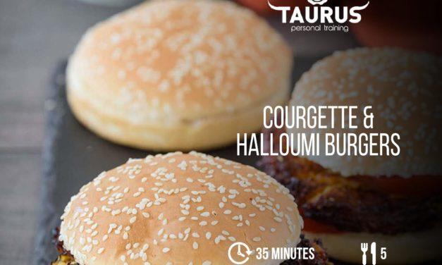 Courgette & Halloumi Burgers