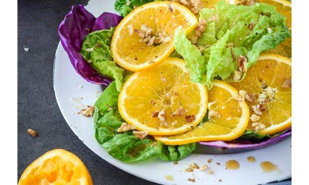 Orange & Radicchio Salad