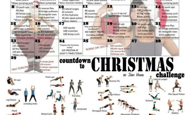 Countdown To Christmas Challenge