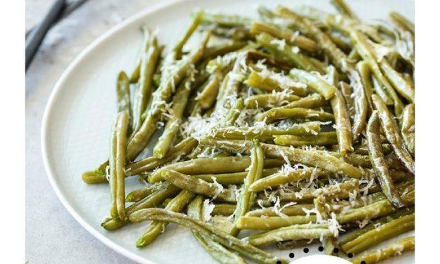 Garlic & Parmesan Green Beans