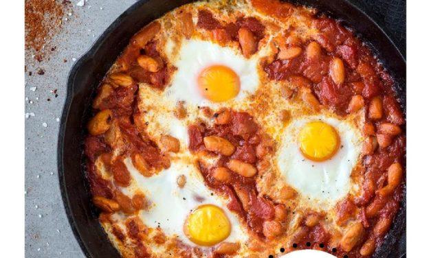 Spicy Beans & Eggs