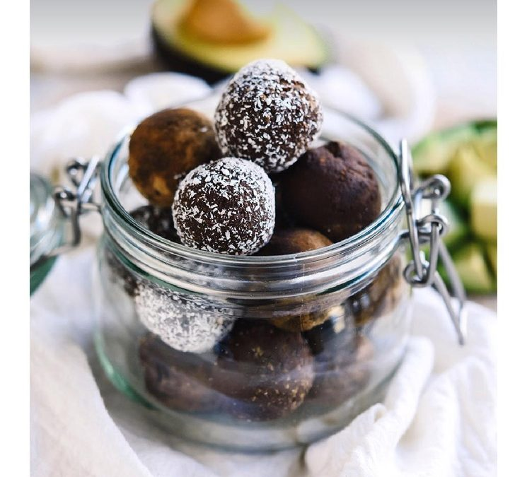 Healthy Avocado Chocolate Truffles
