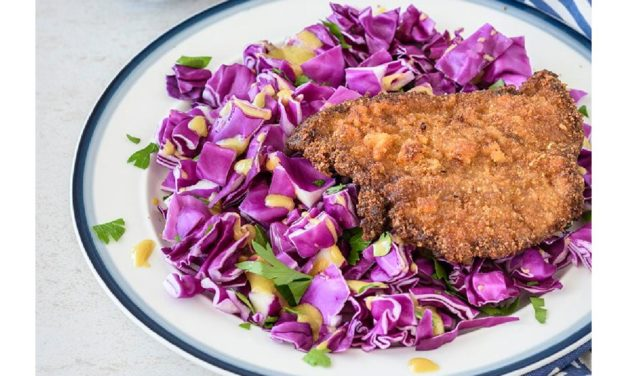 Parmesan Crusted Veal Cutlets